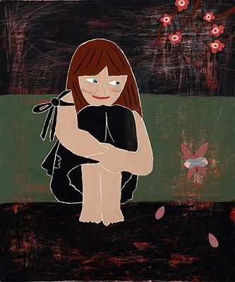 Miss Cherry Blossoms (portrait of Adva)