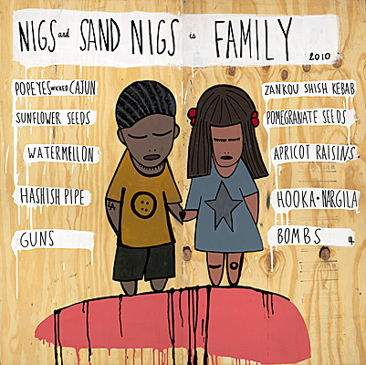 Nigs and Sand Nigs is Family